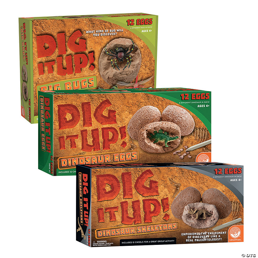 Dig It Up! Dinosaurs and Bugs: Set of 3 Image Thumbnail