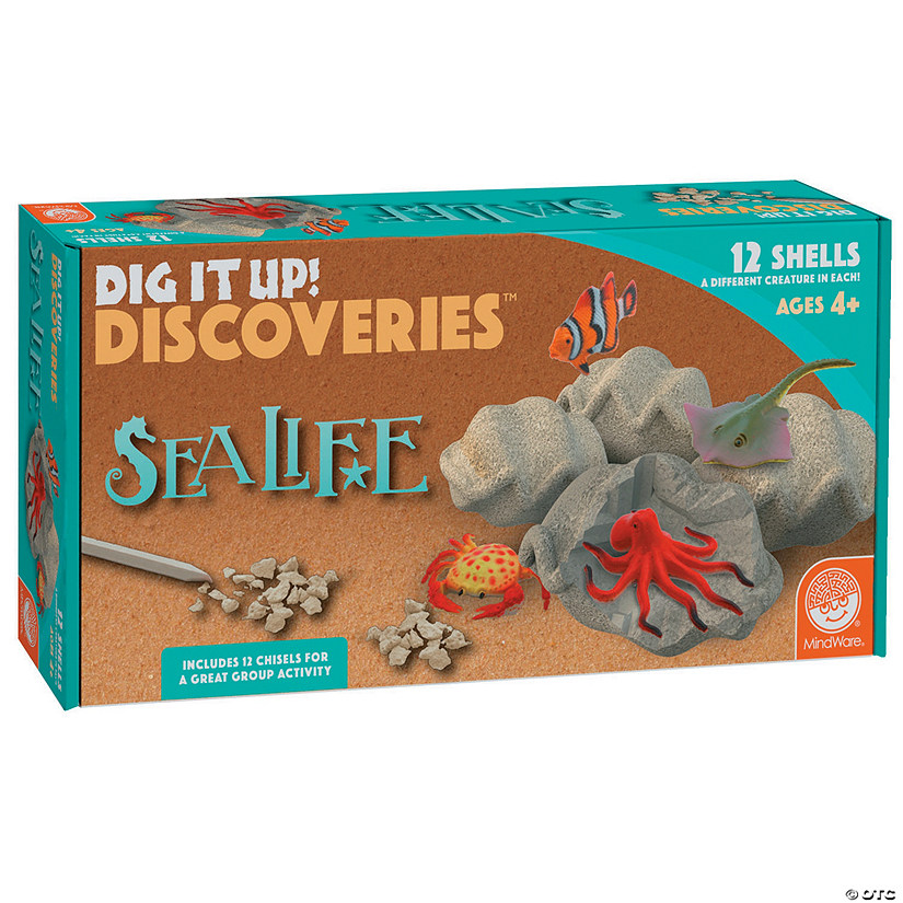 Dig It Up! Discoveries: Sea Life Image Thumbnail