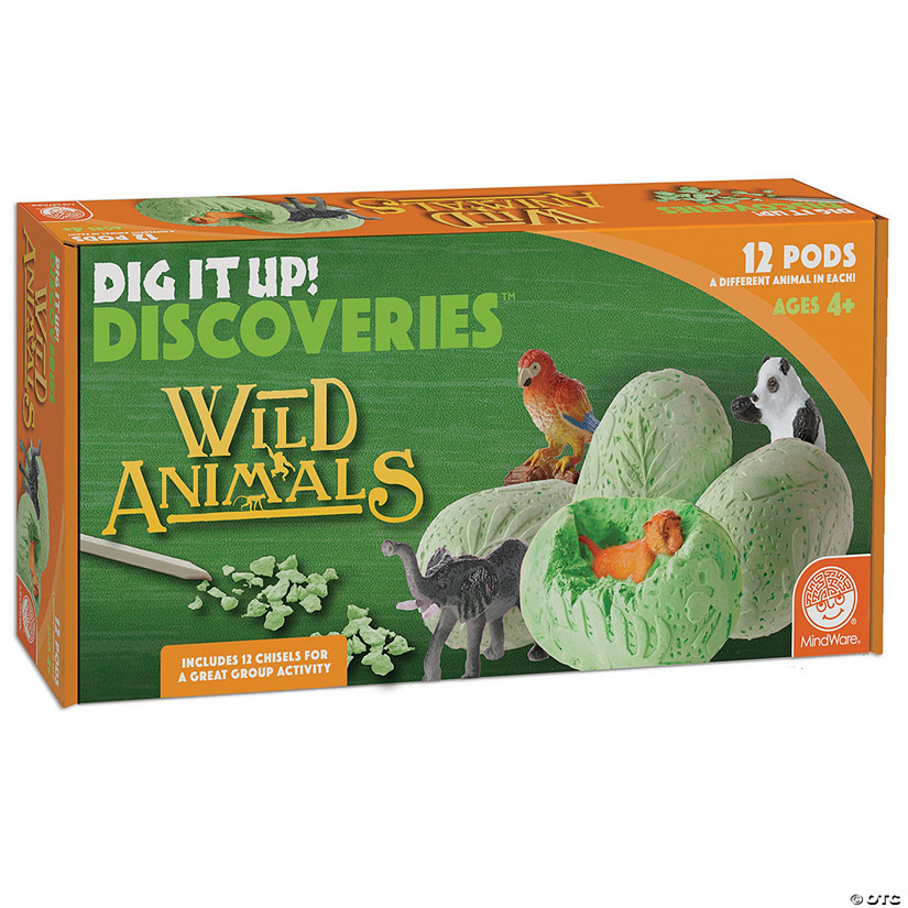 Dig It Up! Discoveries: Wild Animals Audio Thumbnail