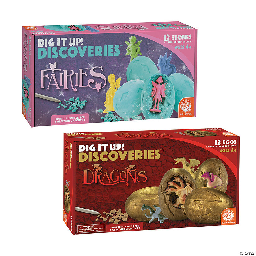 Dig It Up! Dragon Eggs & Fairies: Set of 2