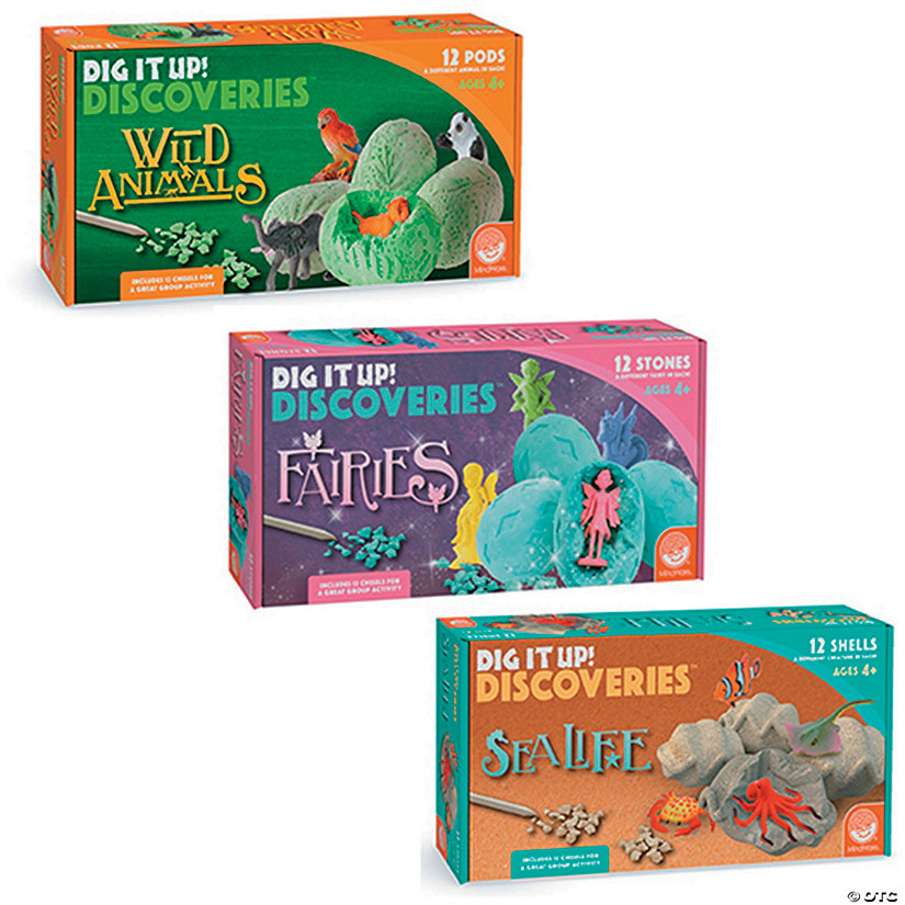 Dig It Up!: Set of 3 Fairies/Wild Animals/Under the Sea Audio Thumbnail