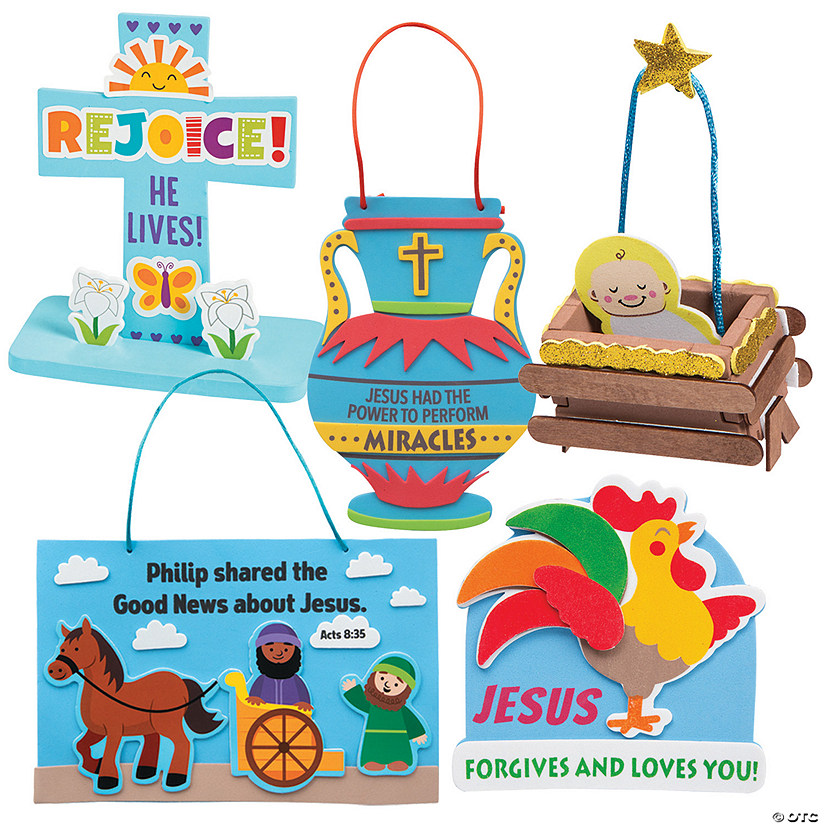 Dig VBS Bible Story-a-Day Craft Assortment for 12 Image Thumbnail