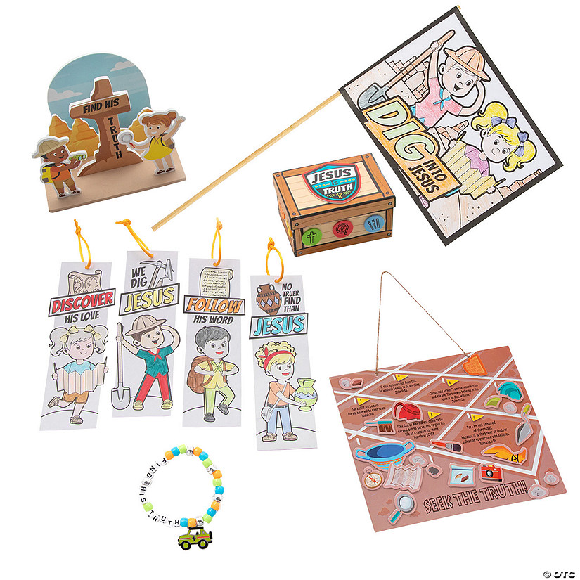 Dig VBS Craft Assortment for 12 Image Thumbnail
