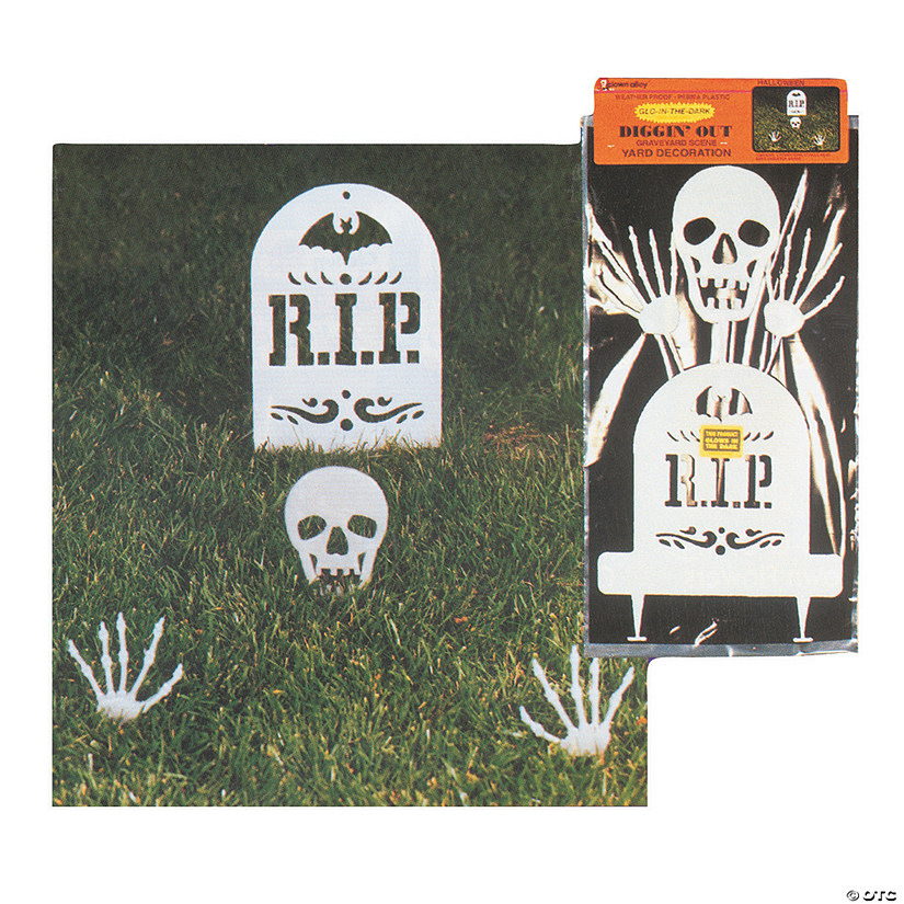 Diggin' Out Glow-in-the-Dark Skeleton Set Halloween Decoration Audio Thumbnail