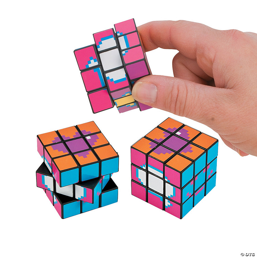 Digicubes Mini Puzzle Cubes