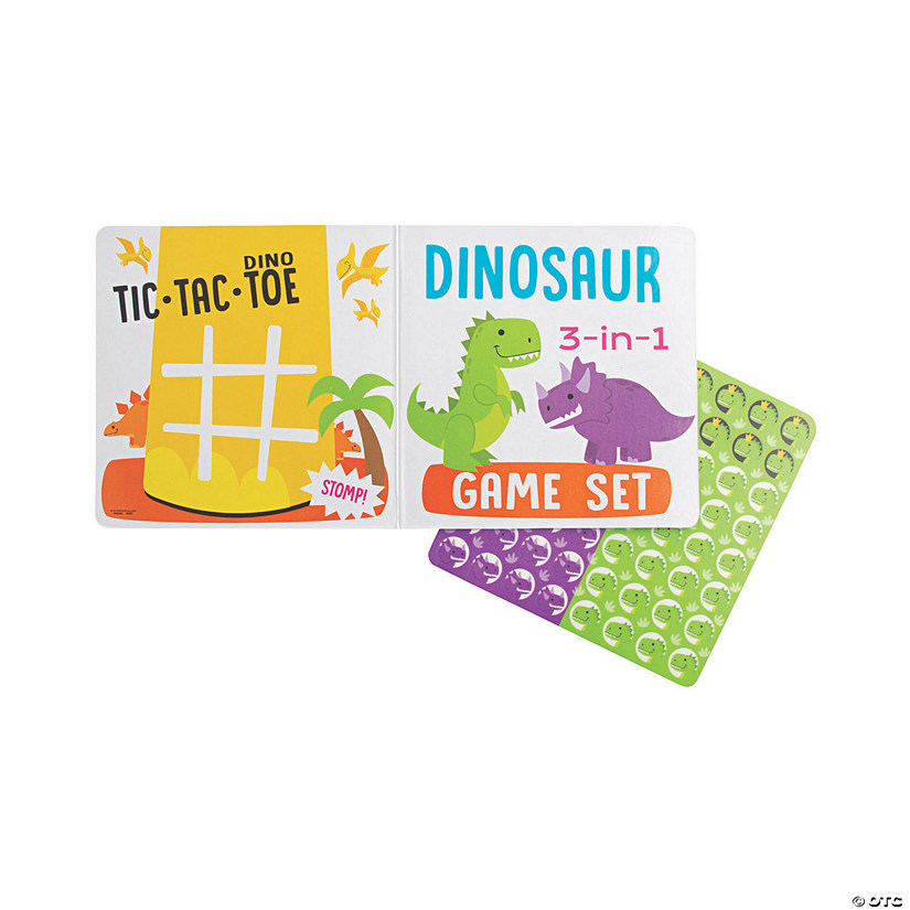Dinosaur 3-in-1 Game Sets Audio Thumbnail