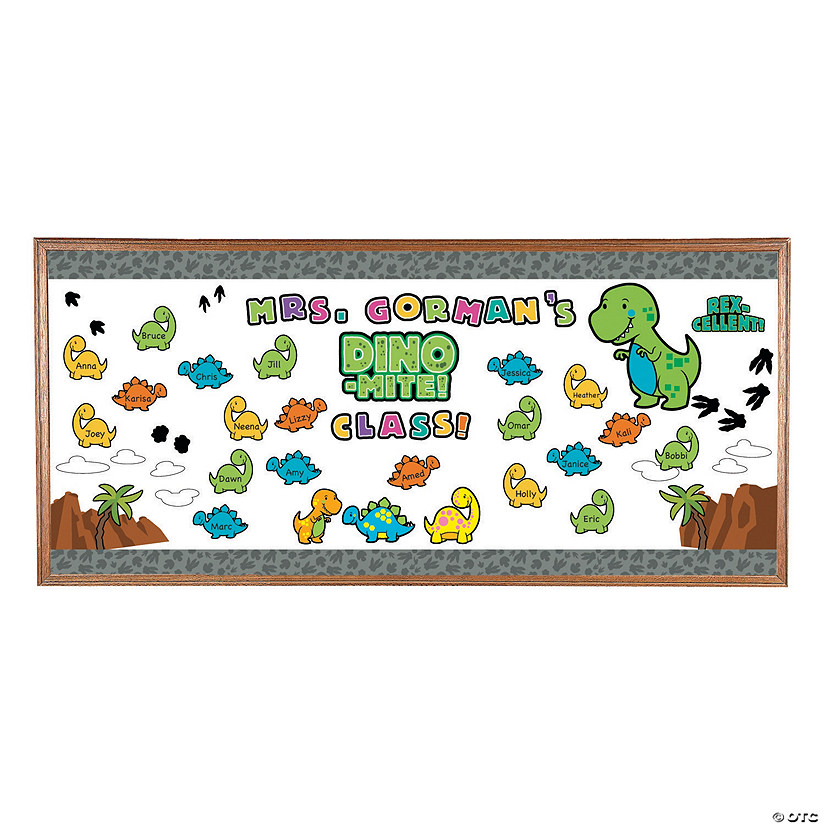 Dinosaur Bulletin Board Set