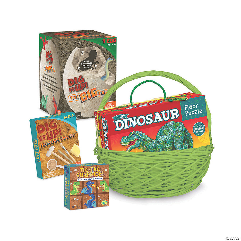 Dinosaur Easter Basket: Ages 4 - 5 Audio Thumbnail