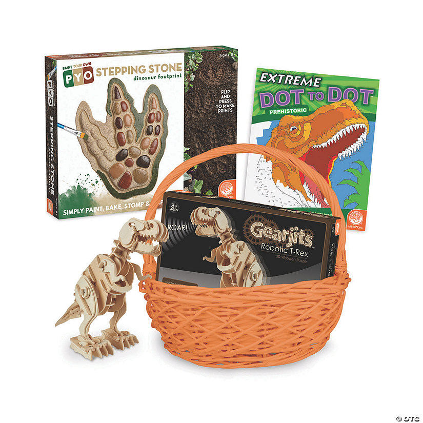 Dinosaur Easter Basket: Ages 8+ Audio Thumbnail