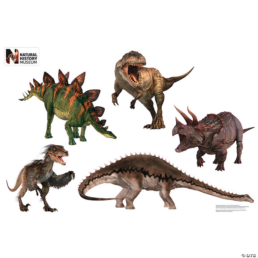 Dinosaur Group Wall Jammer™ Wall Decal