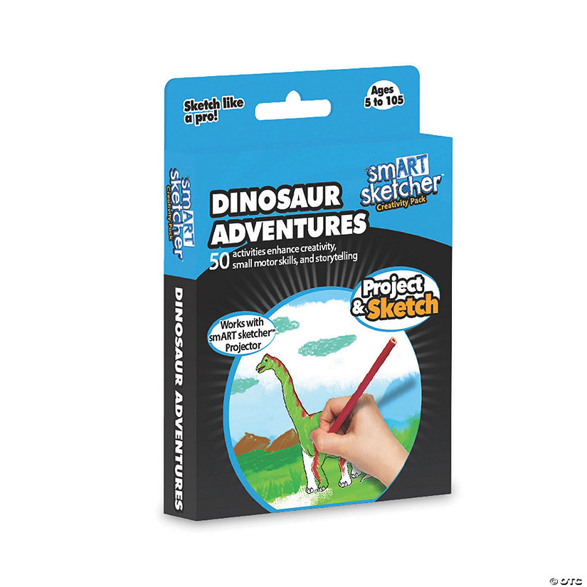 Dinosaurs Adventures Junior Art Pack Image Thumbnail