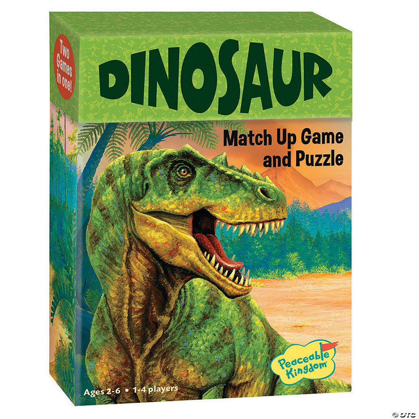 Dinosaurs Match Up Game Image Thumbnail