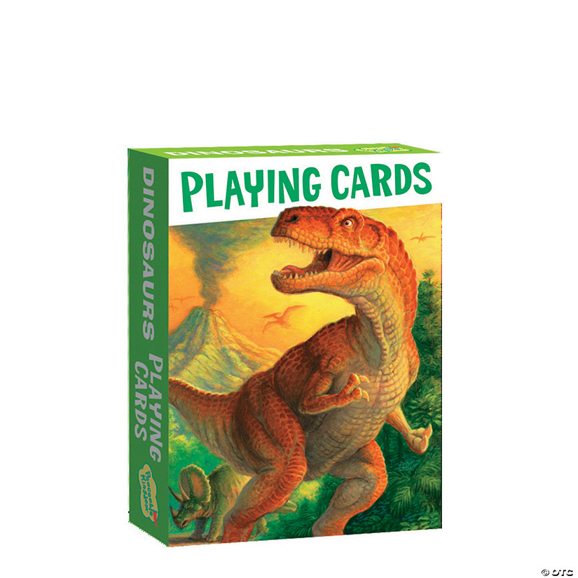 Dinosaurs Playing Card Pack Image Thumbnail