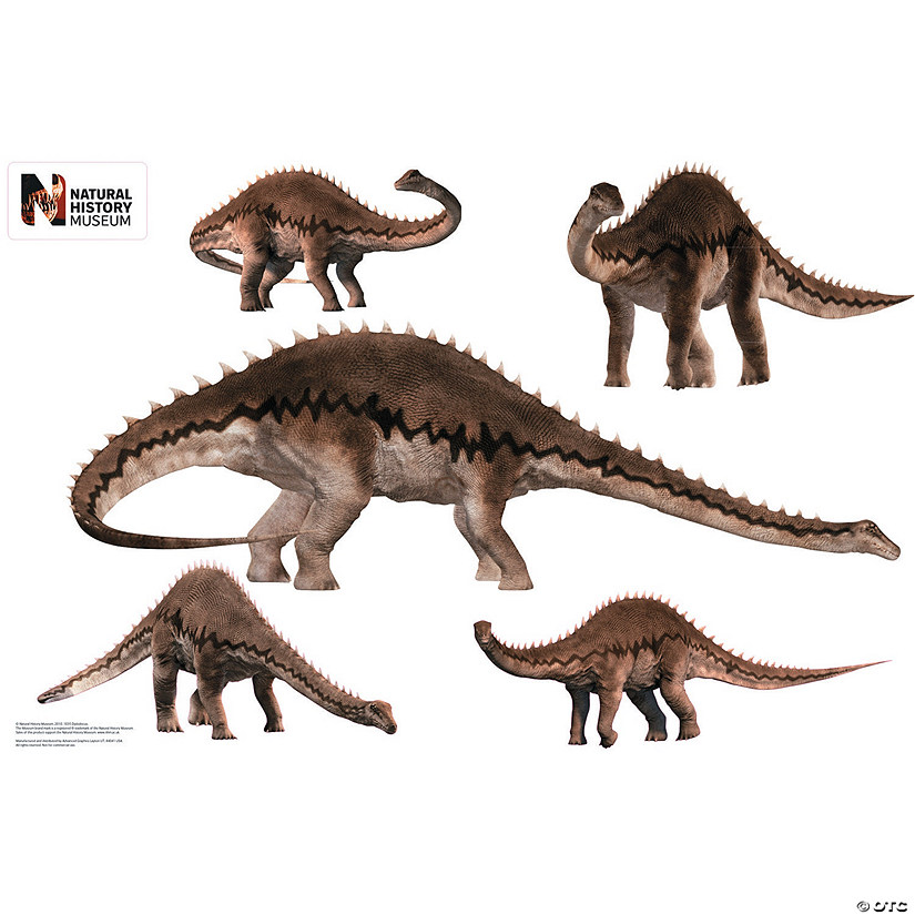 Diplodocus Layout Wall Jammer™ Wall Decal