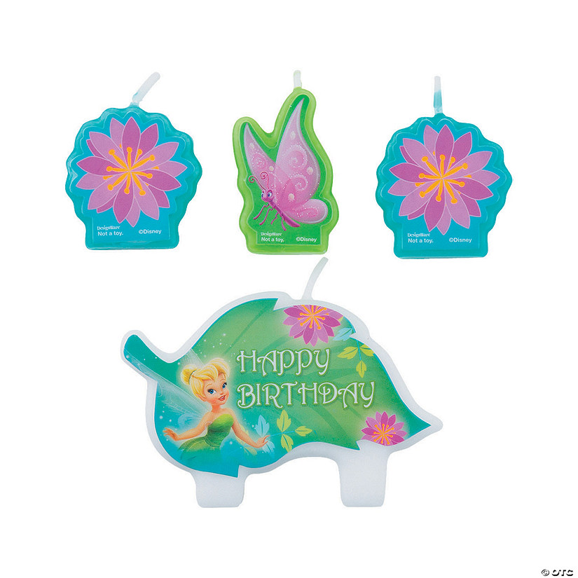 Disney Fairies Tinker Bell Birthday Candles Audio Thumbnail