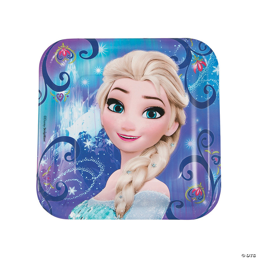 Disney® Frozen Magic Square Paper Dinner Plates