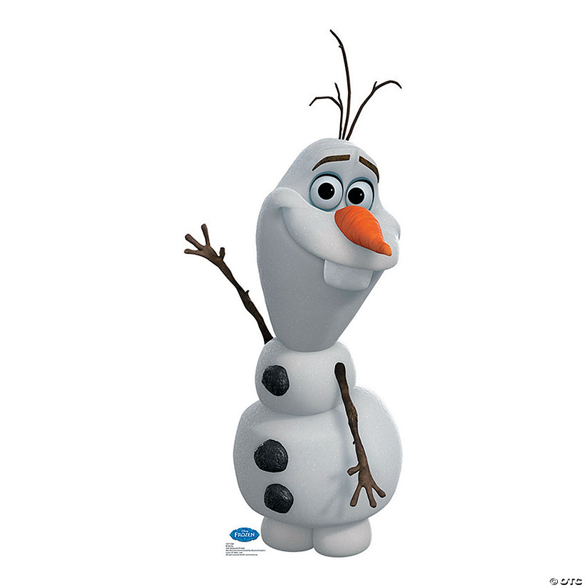 Disney Frozen Olaf Cardboard Stand-Up Audio Thumbnail