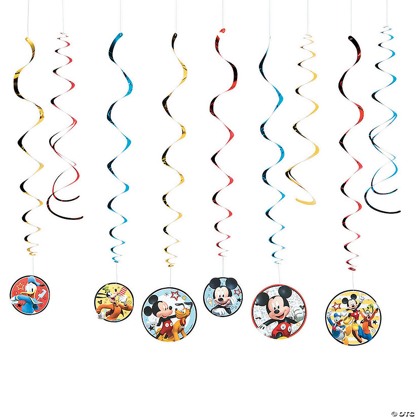 Disney® Mickey on the Go Swirl Decorations Value Pack Audio Thumbnail