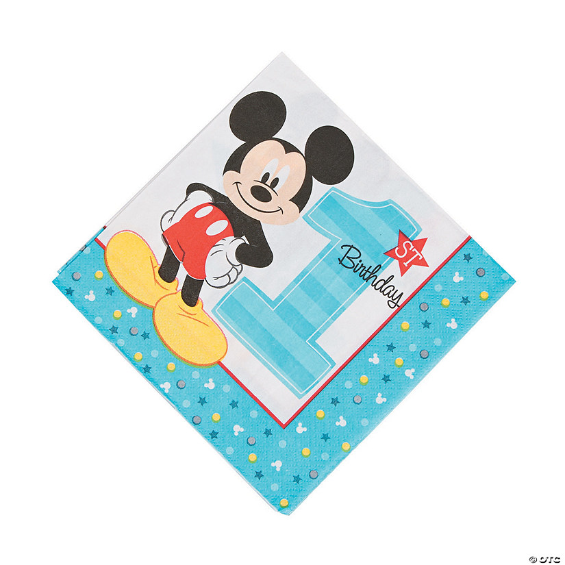 Disney® Mickey's Fun To Be One Luncheon Napkins