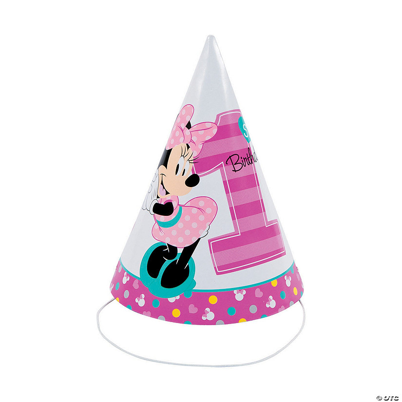DisneyR Minnies Fun To Be One Cone Party Hats