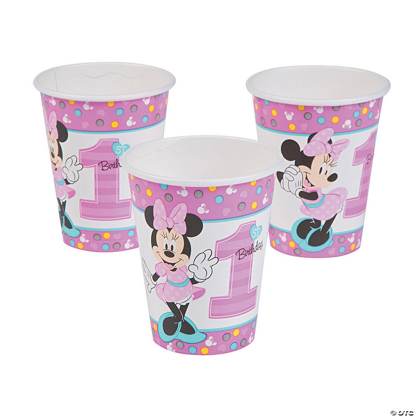 Disney® Minnie's Fun To Be One Paper Cups