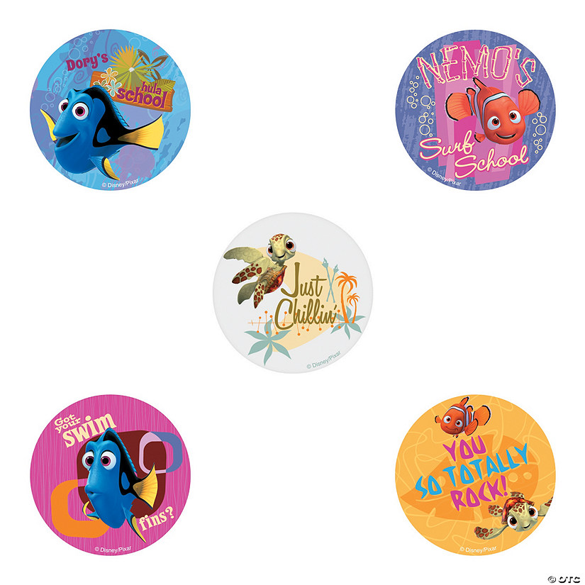 Disney Nemo Wavy Days Stickers