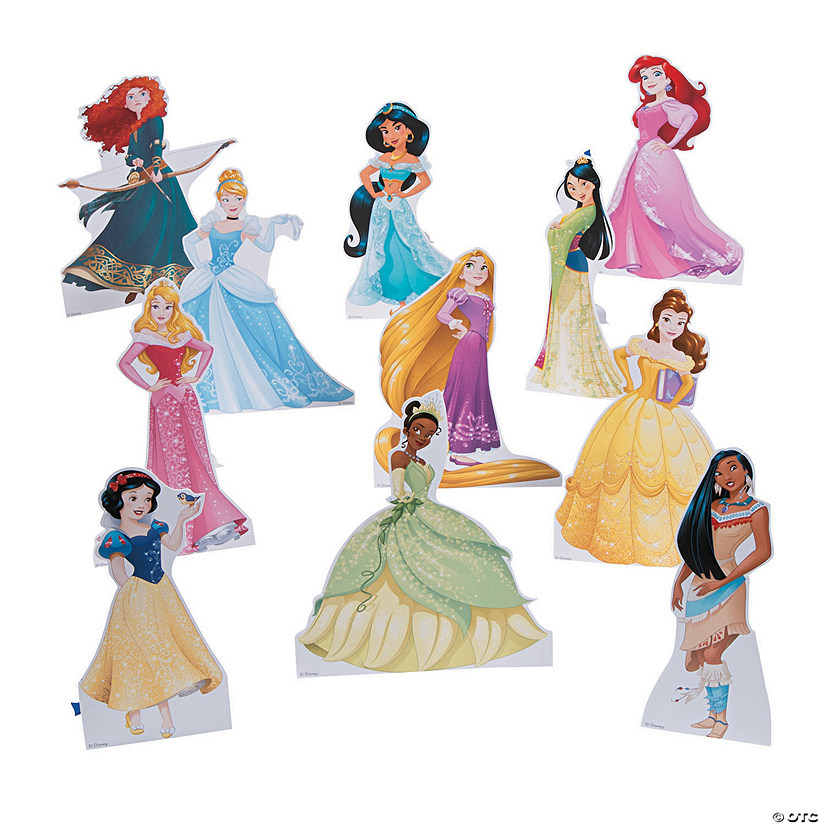 Disney Princess 11-Pack Mini Centerpiece Stand-Ups Image Thumbnail