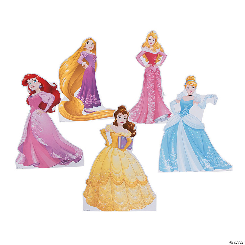Disney Princess 5-Pack Mini Centerpiece Stand-Ups Audio Thumbnail