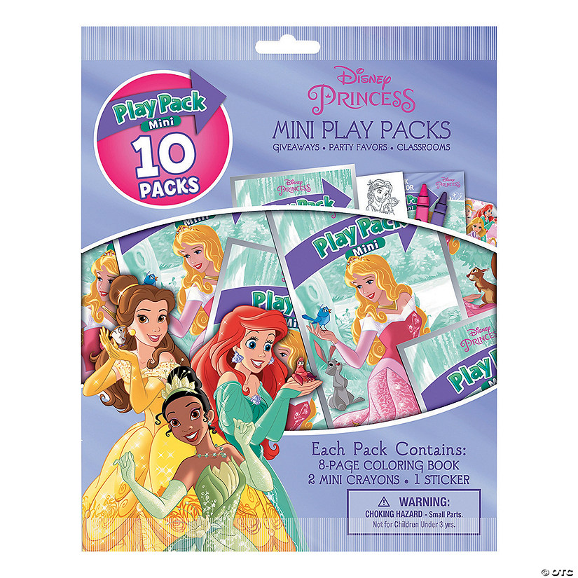 Disney Princess Mini Stationery Play Packs Audio Thumbnail