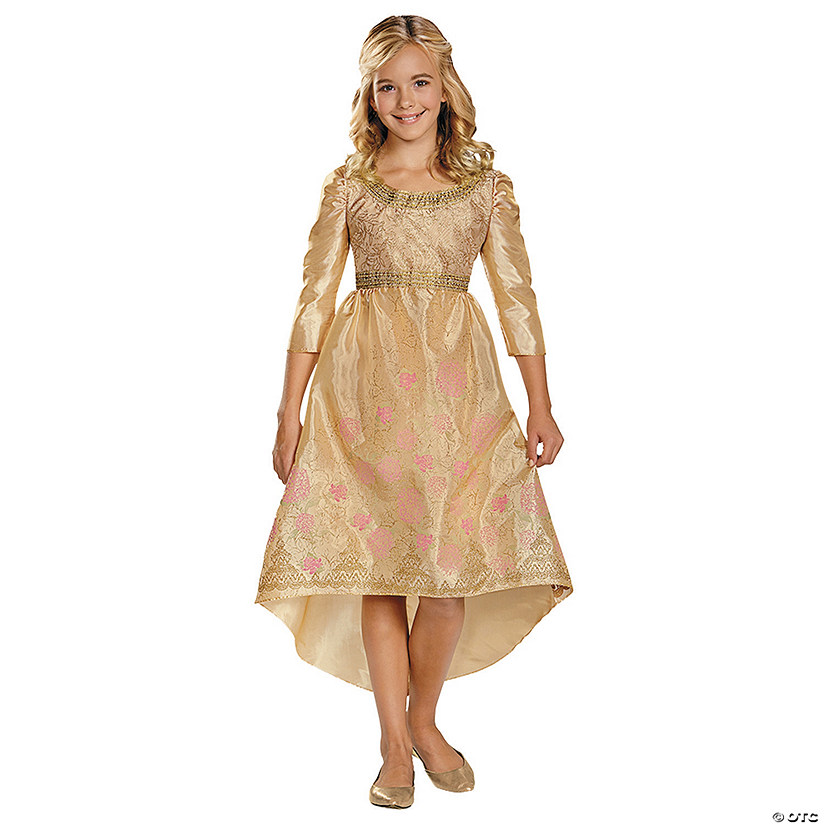 Disney Princess Sleeping Beauty Aurora Coronation Gown Costume for Girls Audio Thumbnail