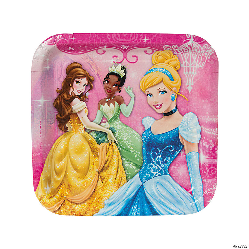 Disney Princess Very Important Princess Dream Party Paper Dinner Plates Audio Thumbnail