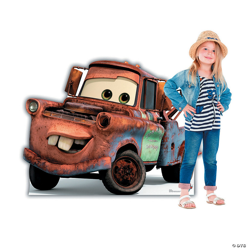 Disney's Cars 3™ Mater Stand-Up Audio Thumbnail