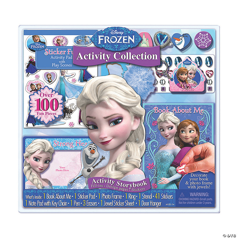 Disney's Frozen Activity Collection Boredom Buster Kit Image Thumbnail