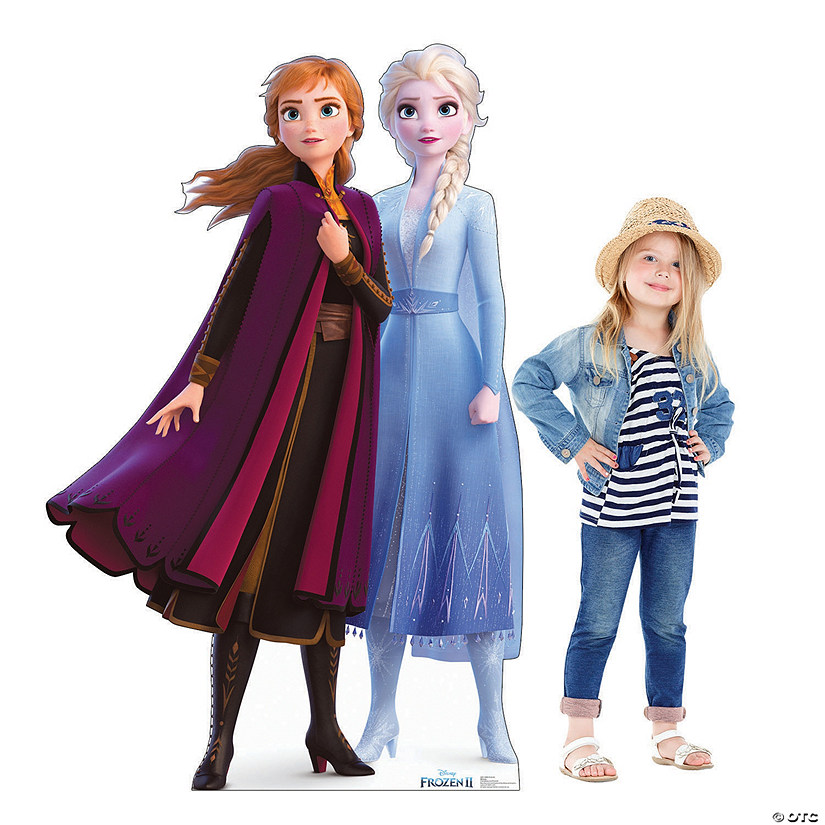 Disney's Frozen II Anna & Elsa Cardboard Stand-Up Audio Thumbnail