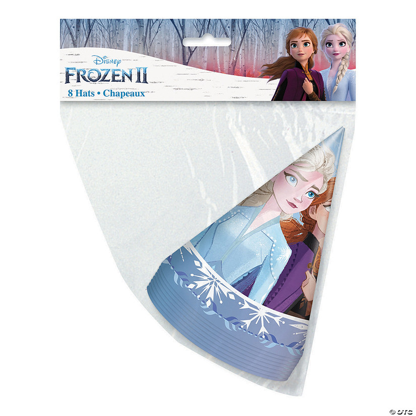 Disney's Frozen II Elsa & Anna Cone Party Hats Audio Thumbnail
