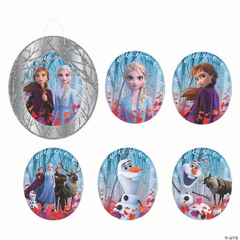 Disney's Frozen II Glitter Wall Frame & Cutouts Audio Thumbnail