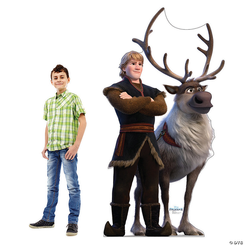 Disney's Frozen II Kristoff & Sven Cardboard Stand-Up Audio Thumbnail