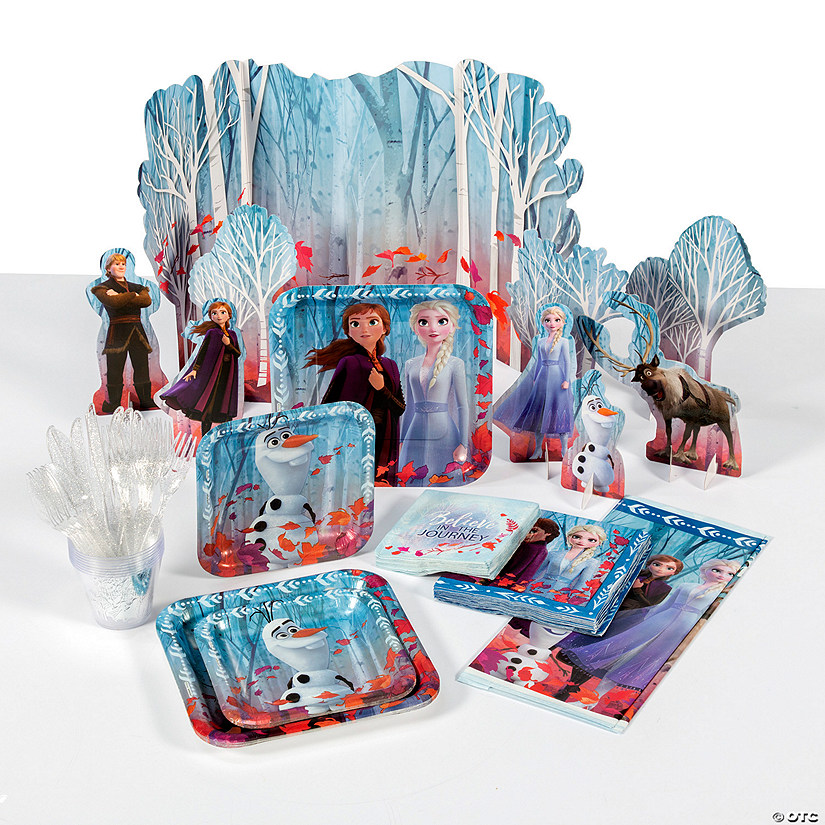 Disney's Frozen II Movie Tableware Kit for 8 Image Thumbnail