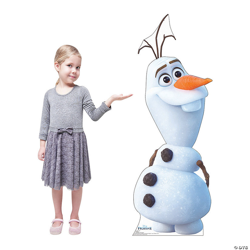 Disney's Frozen II Olaf Cardboard Stand-Up Audio Thumbnail