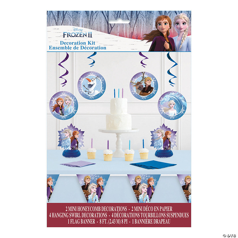 Disney's Frozen II Table Decorating Kit Audio Thumbnail