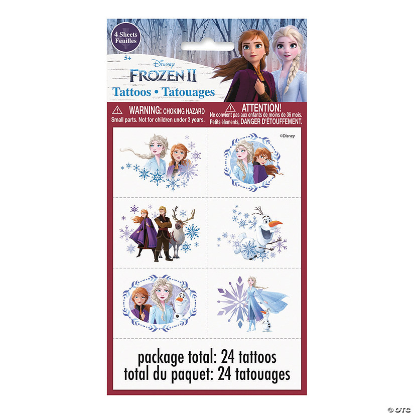 Disney's Frozen II Temporary Tattoos Audio Thumbnail