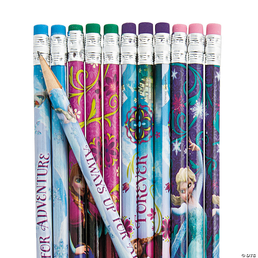 Disney's Frozen Pencils - 12 Pc. Image Thumbnail