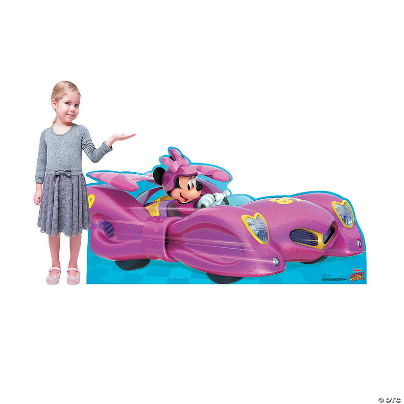 Disney&#8217;s Mickey & the Roadster Racers<sup>&#8482;</sup> Minnie Mouse Car Stand-Up