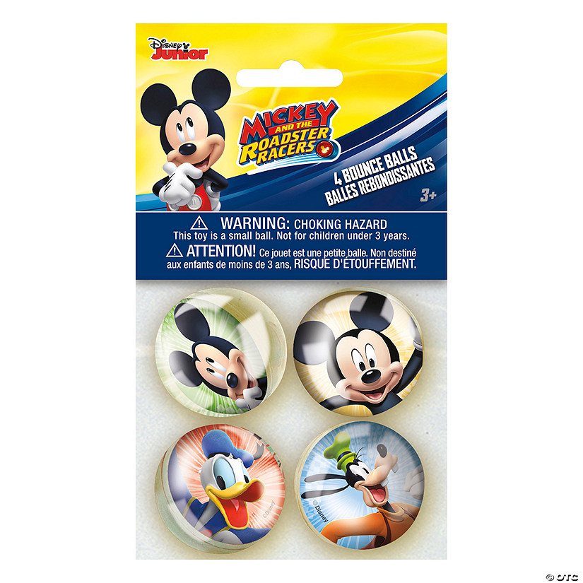 Disney's Mickey Mouse Party Bouncy Balls Image Thumbnail