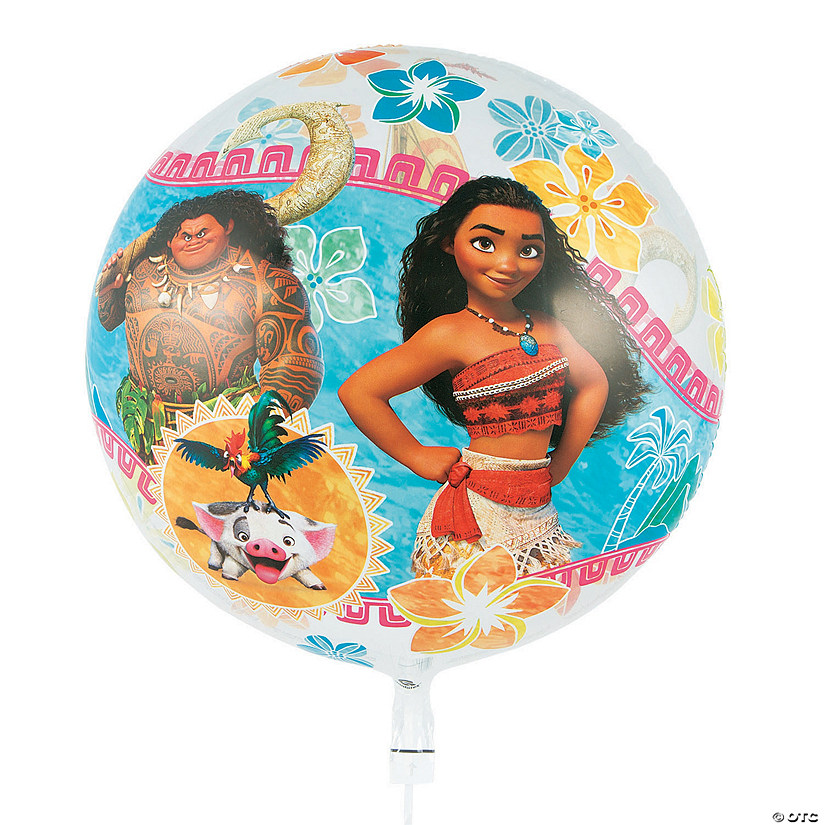 "Disney's Moana 22"" Plastic Bubble Balloon Audio Thumbnail"