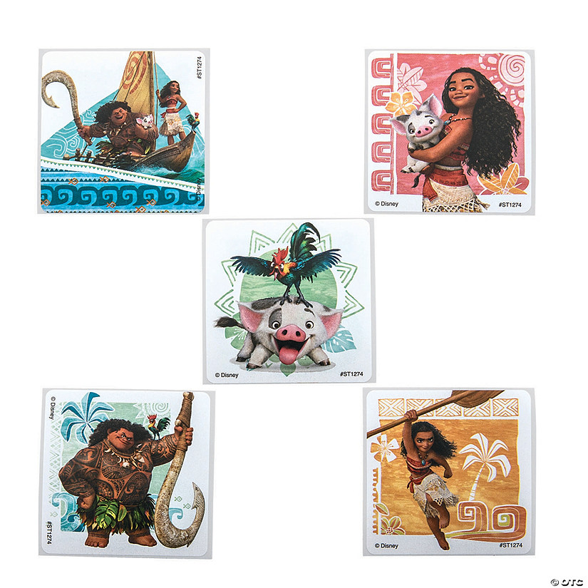 Disney's Moana™ Stickers Audio Thumbnail