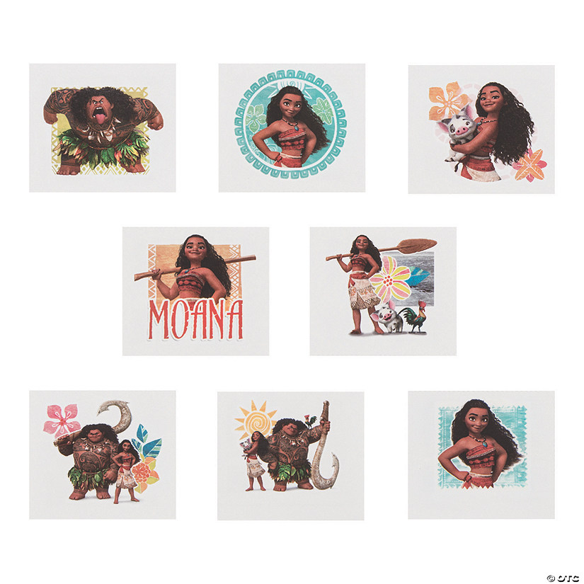 Disney's Moana™ Temporary Tattoos