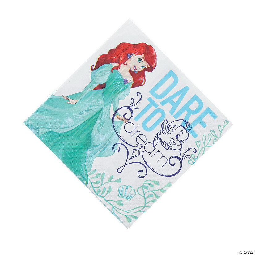 Disney's The Little Mermaid™ Paper Luncheon Napkins Audio Thumbnail