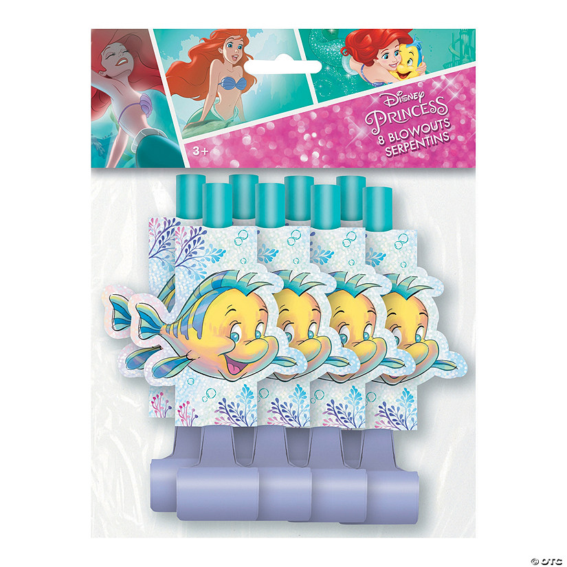 Disney<sup>&#174; </sup>The Little Mermaid<sup>&#8482;</sup> Blowouts Image Thumbnail