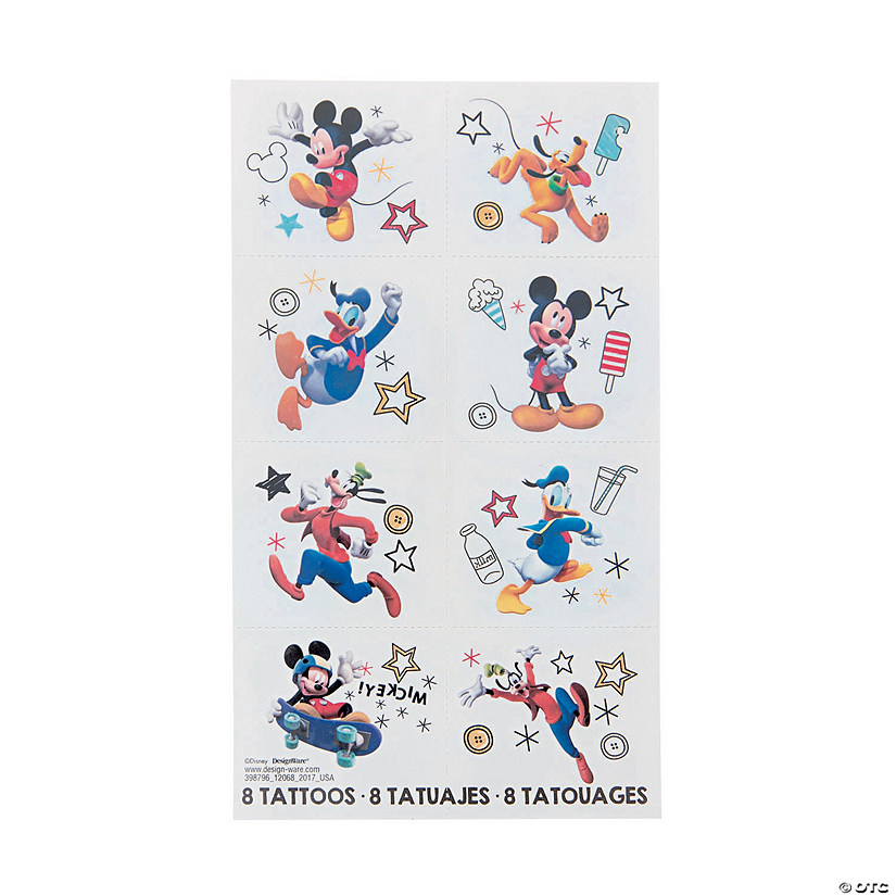 Disney<sup>&#174;</sup> Mickey on the Go Temporary Tattoos Audio Thumbnail